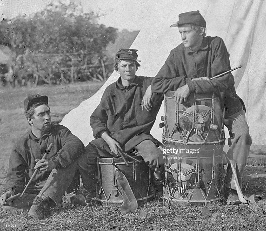 Field Band of the 2nd Rhode Island Infantry Music played a big part on both sides of the conflict On the battlefield different instruments bugles...