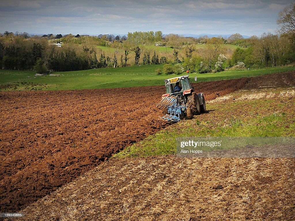 CONTENT] A field being ploughed in Loughgall, County Armagh, Northern Ireland in April 2012.