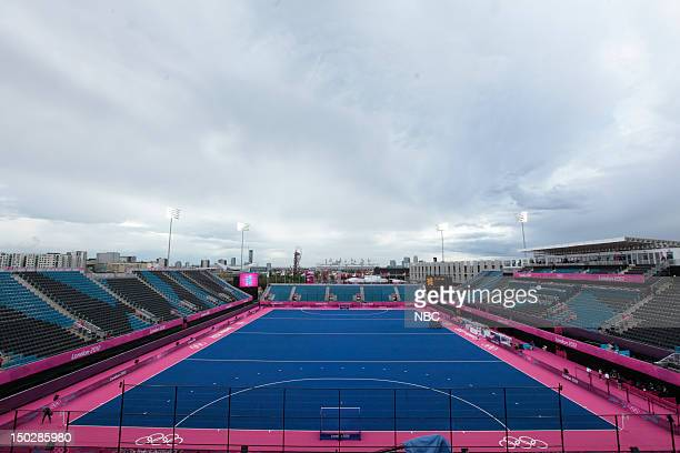 The Riverbank Arena field hockey venue for 2012 Summer Olympics Games held in London England