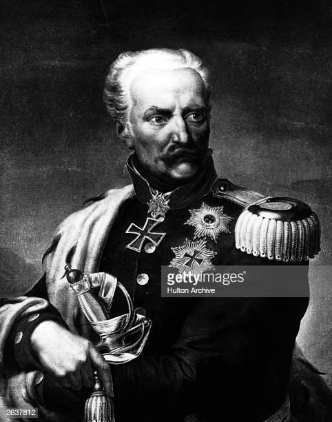 Field Marshal Gebhard Leberecht von Blucher the renowned Prussian soldier