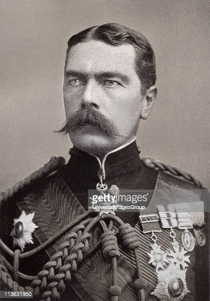 Field Marshal Horatio Herbert Kitchener 1st Earl Kitchener 1850 to 1916 British Field Marshal diplomat and statesman From the book South Africa and...