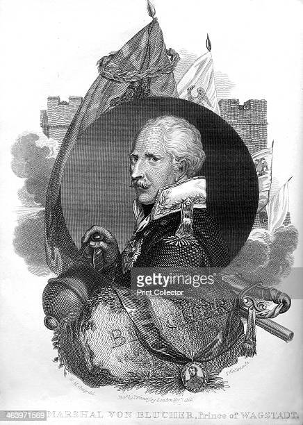 Field Marshal von Blücher Prince of Wagstadt 1816 Von Blücher was a Prussian General who led his army against Napoleon I at the Battle of the Nations...