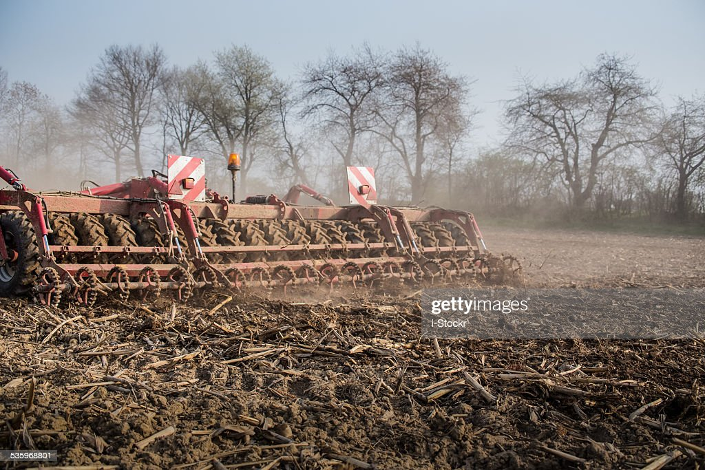 Field works : Stock Photo