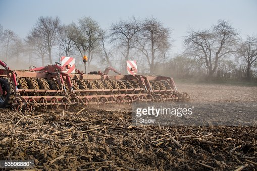 Field works : Stock Photo