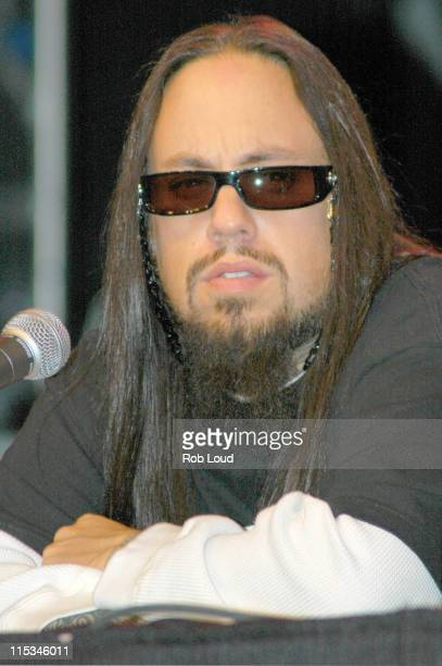 Fieldy during Korn 'See You on the Other Side' New York City Press Conference November 28 2005 at Hard Rock Cafe in New York City New York United...