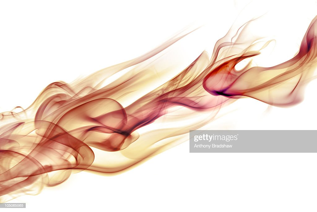 Fiery smoke : Stock Photo