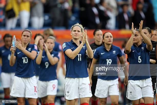 Laure Lepailleur FRA Spiel um PLatz 3 kleines Finale Schweden Frankreich 21 FifA Frauen Fussball WM Weltmeisterschaft 2011 in Deutschland FIFA women...