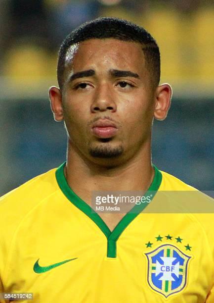 Fifa Men´s Tournament Olympic Games Rio 2016 Brazil National Team Gabriel Fernando de Jesus