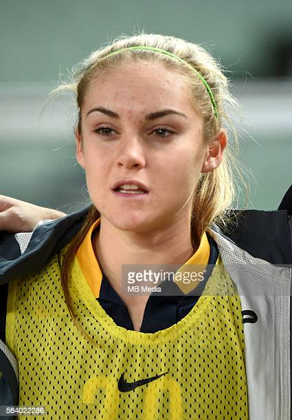 Fifa Woman's Tournament Olympic Games Rio 2016 Australia National Team Ellie Madison Carpenter