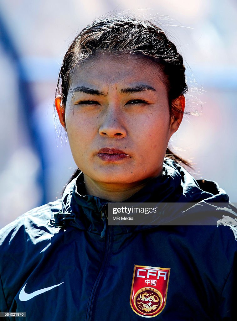 Fifa Woman's Tournament Olympic Games Rio 2016 China National Team Wang Fei