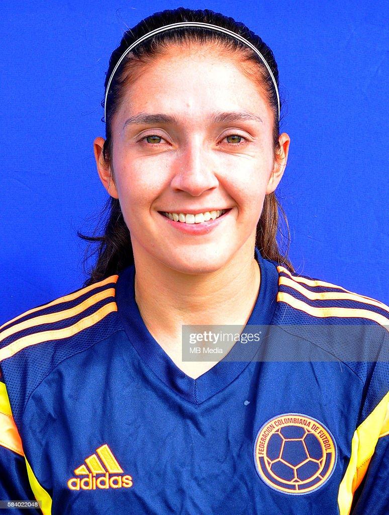 Olympic Rio 2016 Women's Football Team Headshots