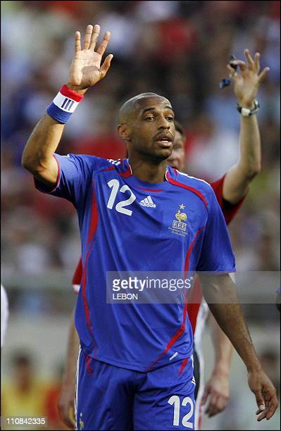 Fifa World Cup France Switzerland In Stuttgart Germany On June 13 2006 Thierry Henry
