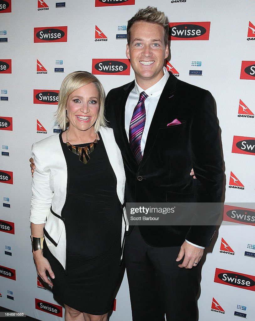 <a gi-track='captionPersonalityLinkClicked' href=/galleries/search?phrase=Fifi+Box&family=editorial&specificpeople=3011556 ng-click='$event.stopPropagation()'>Fifi Box</a> and Jules Lund arrive at a Ellen DeGeneres Welcome Party on March 26, 2013 in Melbourne, Australia. Ellen DeGeneres is in Australia to film segments for her TV show, 'Ellen'.