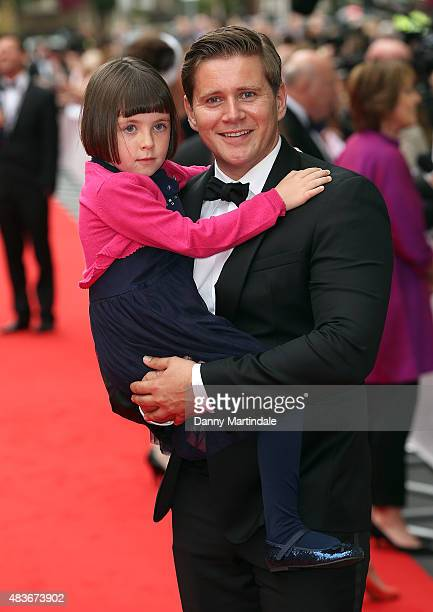 Fifi Ward and Allen Leech attends as BAFTA celebrate 'Downton Abbey' at Richmond Theatre on August 11 2015 in Richmond England