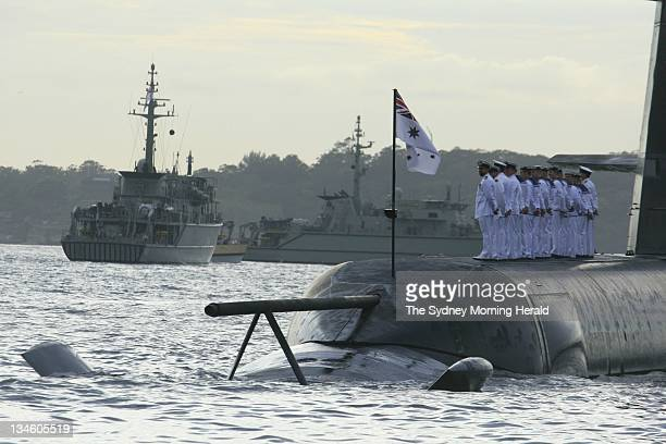Fifteen warships of the Royal Australian Navy sailed into Sydney Harbour at dawn in one of the largest naval displays in Sydneys history The vessels...