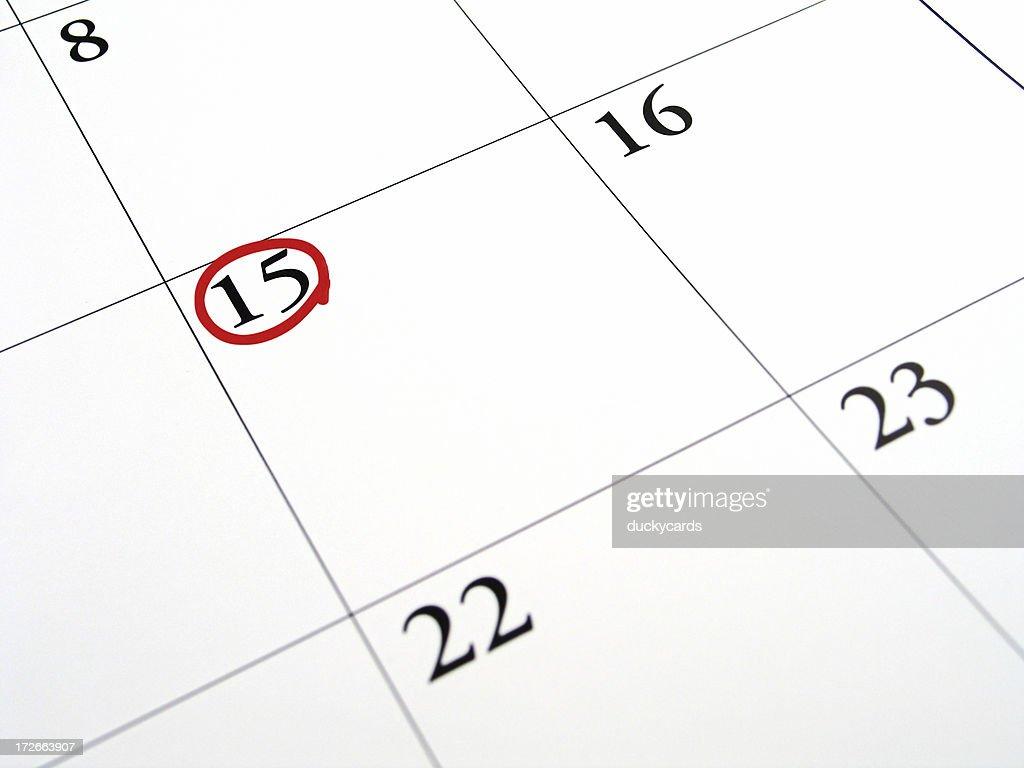 Fifteenth - Tax Day 2