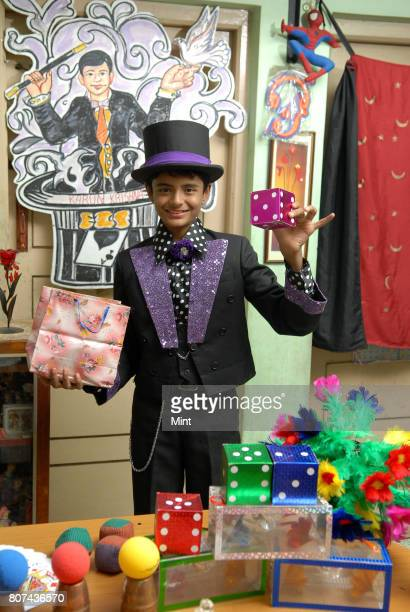 Fifteenyearold Bangalorebased magician Karun Krishna photographed during an interview with Mint He started performing magic tricks when he was only...