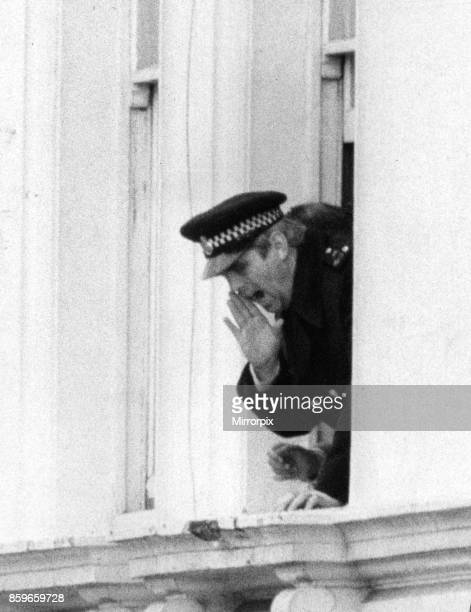 Fifth day of the Iranian Embassy Siege in London where six gunmen of the Iranian extremist group 'Democratic Revolutionary Movement for the...