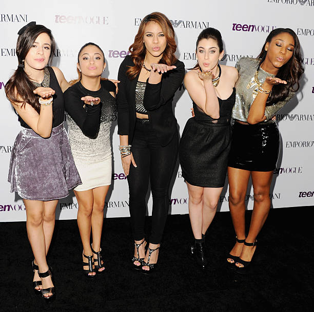 045feb8cf41 Fifth Harmony arrives at the 2013 Teen Vogue Young Hollywood Awards on  September 27