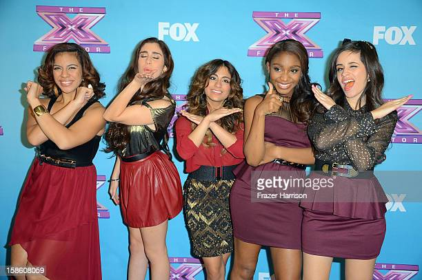 Fifth Harmony at Fox's 'The X Factor' Season Finale Night 2 at CBS Television City on December 20 2012 in Los Angeles California