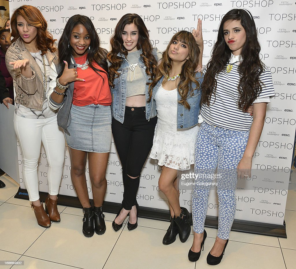<a gi-track='captionPersonalityLinkClicked' href=/galleries/search?phrase=Fifth+Harmony&family=editorial&specificpeople=9960104 ng-click='$event.stopPropagation()'>Fifth Harmony</a> attend at TopShop on May 13, 2013 in New York City.