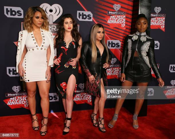 Fifth Harmony attend the 2017 iHeartRadio Music Awards at The Forum on March 5 2017 in Inglewood California