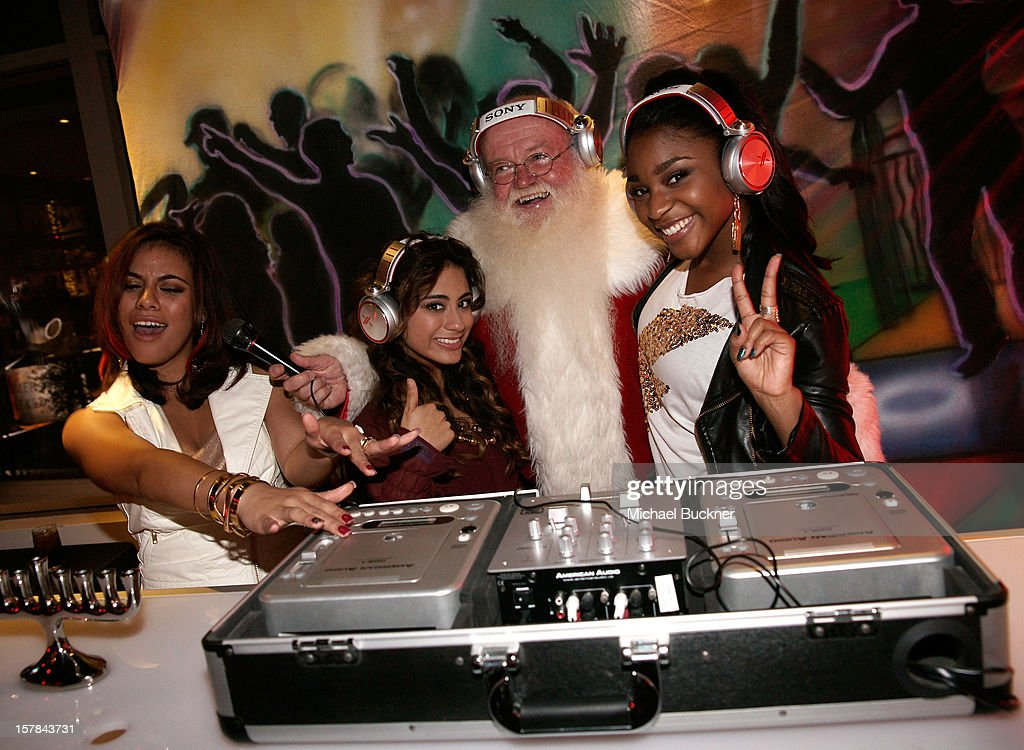 Fifth Harmony attends The X Factor Viewing Party Sponsored By Sony X Headphones at Mixology101 & Planet Dailies on December 6, 2012 in Los Angeles, United States.