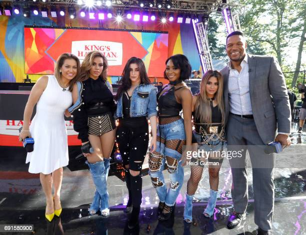AMERICA Fifth Harmony performs live from Central Park as part of the Summer Concert Series on 'Good Morning America' Friday June 2 2017 on the ABC...