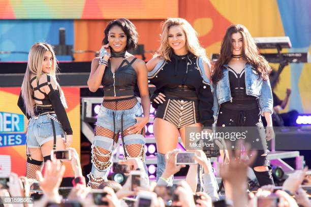 Fifth Harmony Performs on ABC's 'Good Morning America' at SummerStage at Rumsey Playfield Central Park on June 2 2017 in New York City