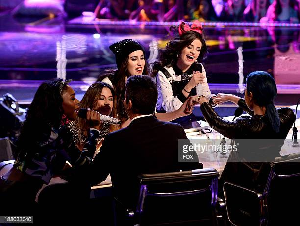 Fifth Harmony performs on FOX's 'The X Factor' Season 3 Top 12 To 10 Live Elimination Show on November 14 2013 in Hollywood California