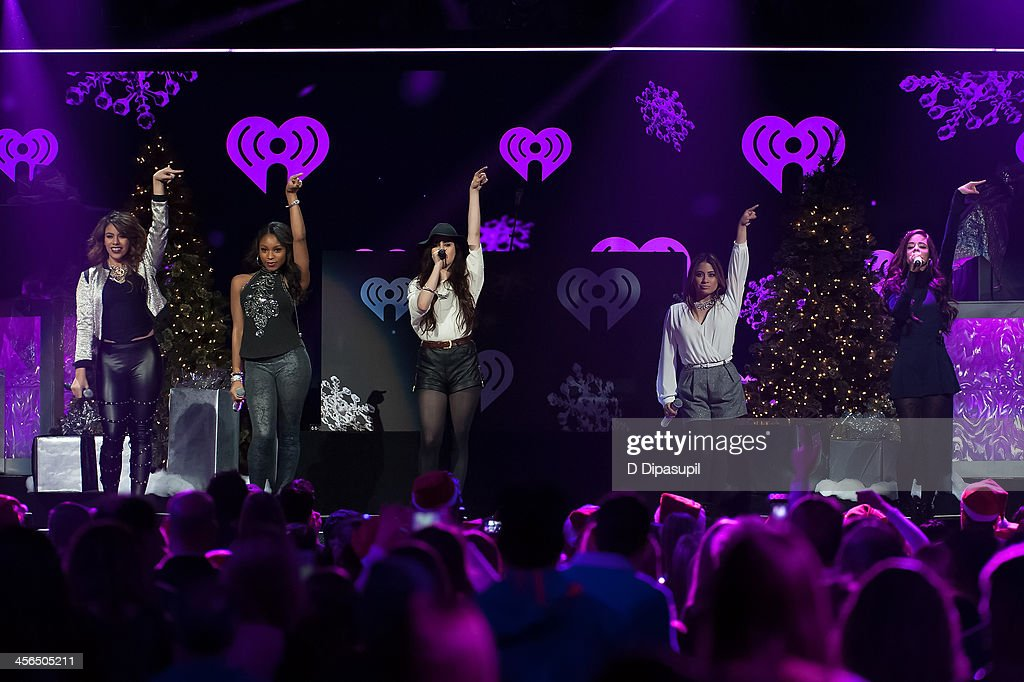 Fifth Harmony performs onstage during Z100's Jingle Ball 2013 at Madison Square Garden on December 13, 2013 in New York City.