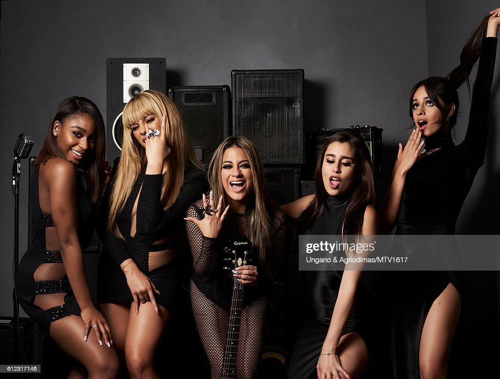 Normani Hamilton, Dinah Jane Hansen, Ally Brooke, Lauren Jauregui and Camila Cabello) poses for a portrait at the 2016 MTV Video Music Awards at Madison Square Garden on August 28, 2016 in New York City.