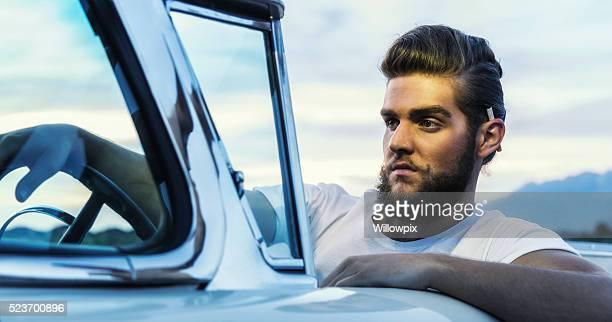 提携ポンパドールクール 取外して 男 クラシックな多目的車の車