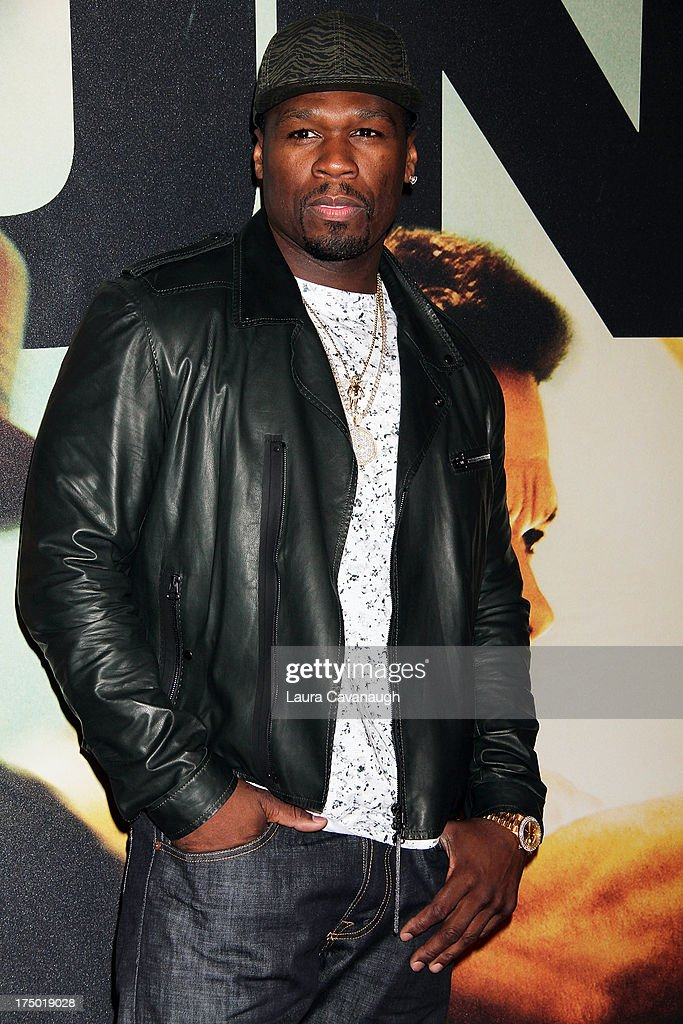 Fifty Cent attends the '2 Guns' premiere at SVA Theater on July 29, 2013 in New York City.