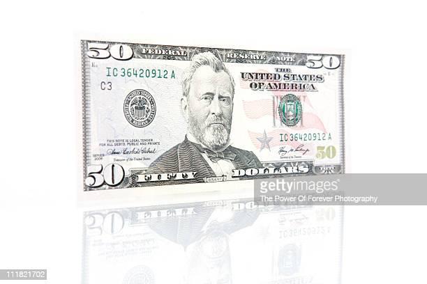 US Fifty Dollar Bill