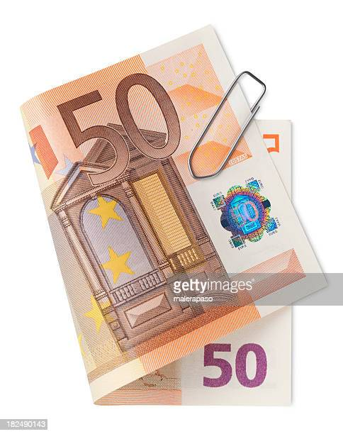 Fünfzig Euro-Banknoten