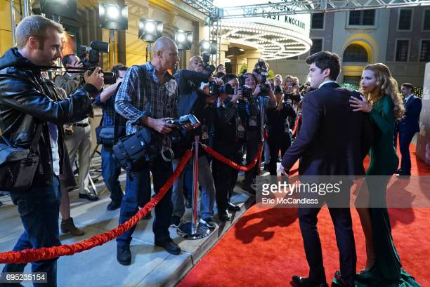 LOVE 'Fifty Shades of Red' The cast of Locked attends a red carpet premiere but has to do damage control after the event takes a disastrous turn on...