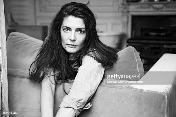 Figaro ID 101496006 Actress Chiara Mastroianni is photographed for Madame Figaro on July 12 2011 in Paris France Shirt CREDIT MUST READ Marcus...