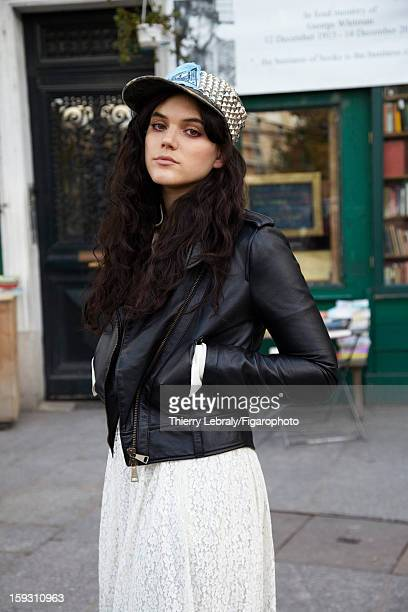 Figaro ID 105118006 Singer/actress SoKo is photographed for Madame Figaro on October 14 2012 in Paris France PUBLISHED IMAGE Jacket by Vivienne...
