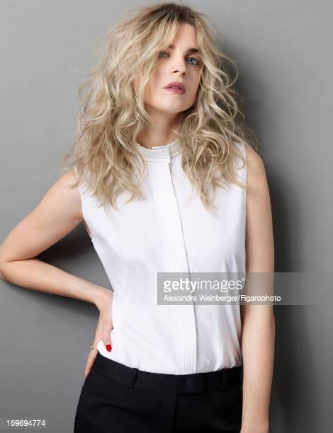 Figaro ID 105234005 Actress Cecile Cassel is photographed for Madame Figaro on October 22 2012 in Paris France PUBLISHED IMAGE Shirt and pants by...