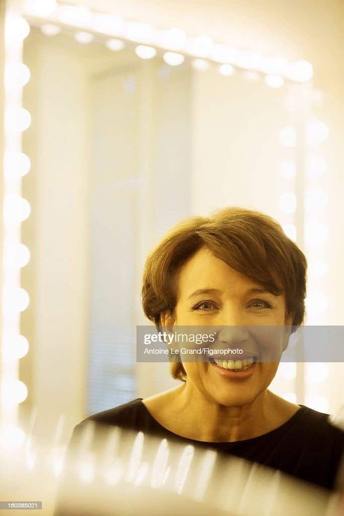 105268-004. Politician <a gi-track='captionPersonalityLinkClicked' href=/galleries/search?phrase=Roselyne+Bachelot&family=editorial&specificpeople=2369544 ng-click='$event.stopPropagation()'>Roselyne Bachelot</a> is photographed for Madame Figaro on October 23, 2012 in Paris, France.