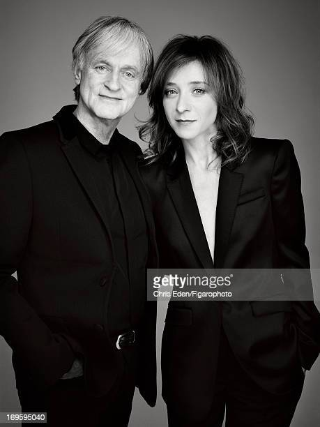 Figaro ID 105332017 Actors Sylvie Testud and Dave are photographed for Madame Figaro on December 11 2012 in Paris France Dave Jacket shirt jeans and...