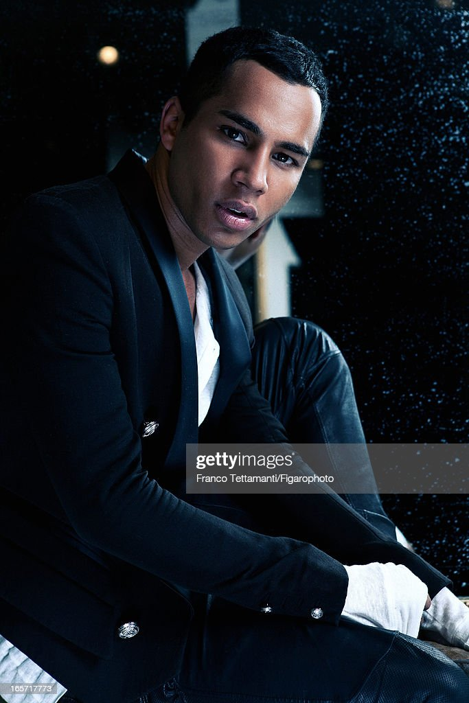Olivier Rousteing, Madame Figaro, March 29, 2013