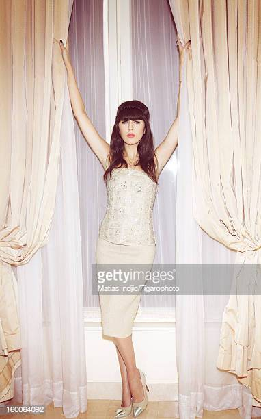 Figaro ID 105403008 Singer Nolwenn Leroy is photographed for Madame Figaro on December 7 2012 in Paris France Bustier skirt and shoes by Philosophy...