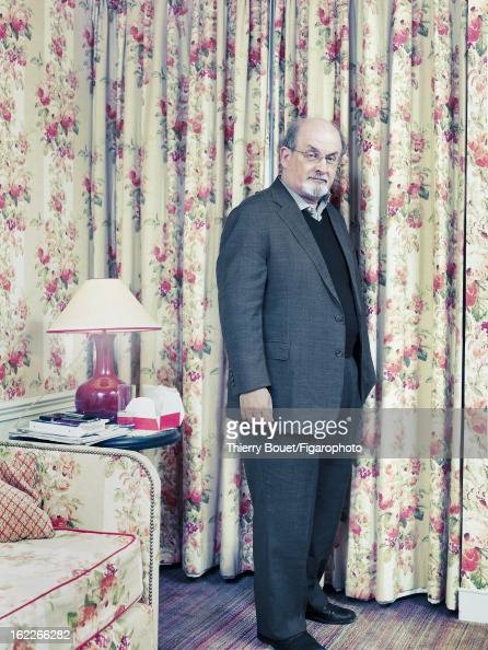 Figaro ID 105430003 Writer Salman Rushdie is photographed for Madame Figaro on February 16 2007 in Paris France PUBLISHED IMAGE CREDIT MUST READ...
