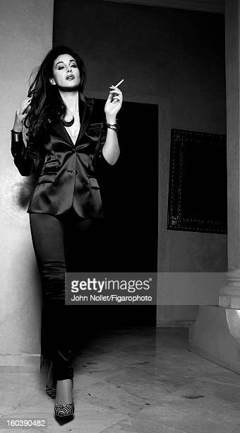 Figaro ID 105535002 Actress Monica Bellucci is photographed for Madame Figaro on December 1 2012 in Marrakech Morocco PUBLISHED IMAGE Suit by Dolce...