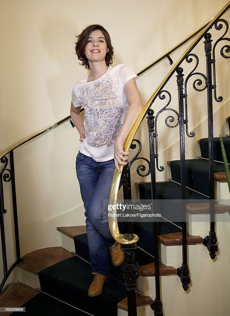 105560-006. Actress Irene Jacob is photographed for Madame Figaro on December 13, 2012 in Paris, France. PUBLISHED IMAGE.