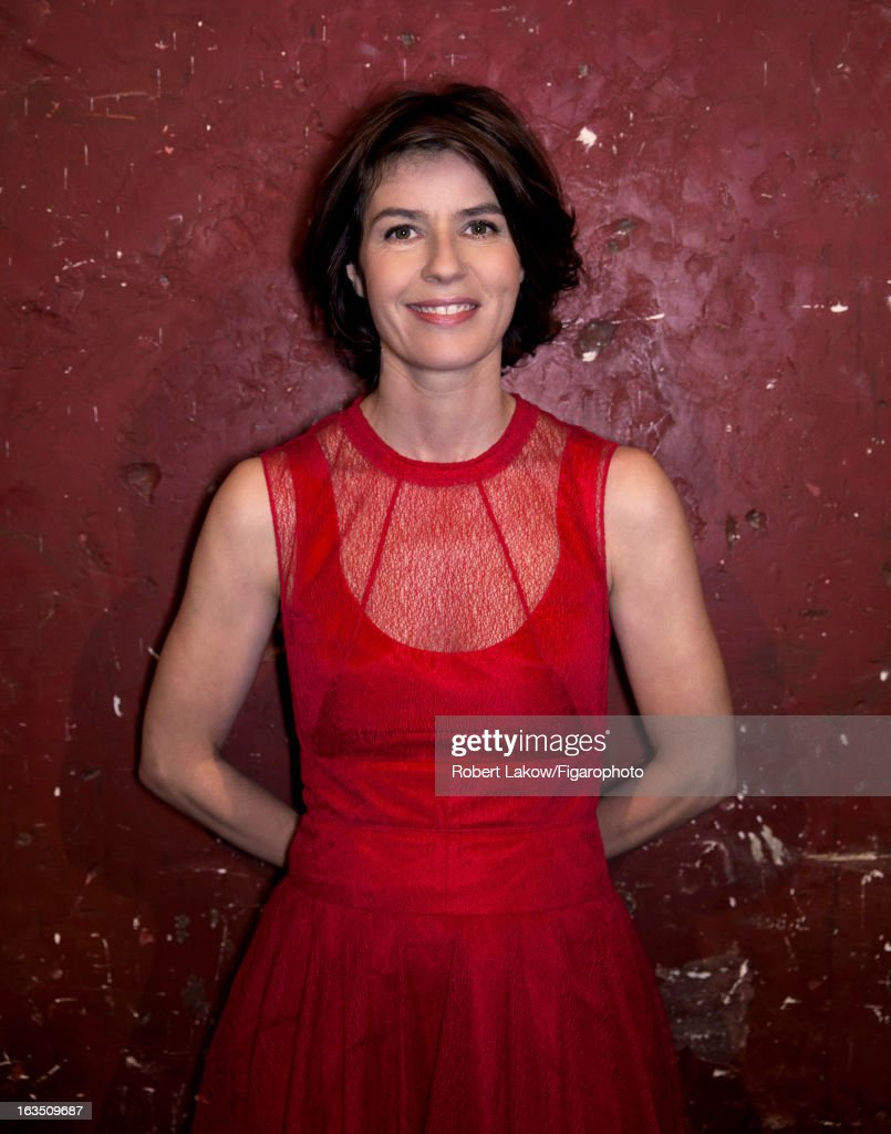105560-008. Actress Irene Jacob is photographed for Madame Figaro on December 13, 2012 in Paris, France.