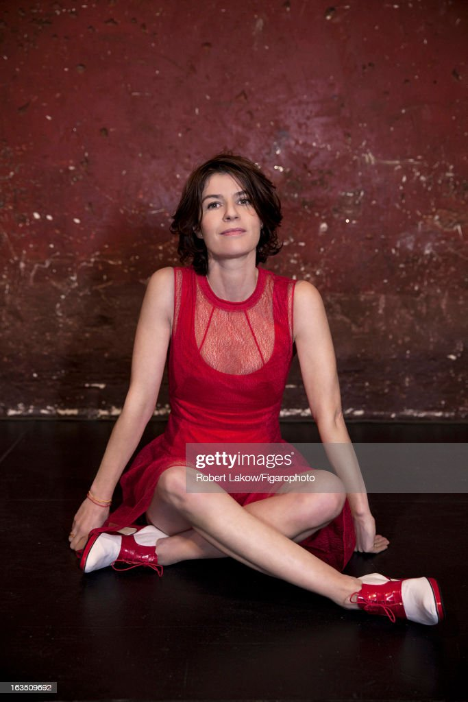 105560-010. Actress Irene Jacob is photographed for Madame Figaro on December 13, 2012 in Paris, France.