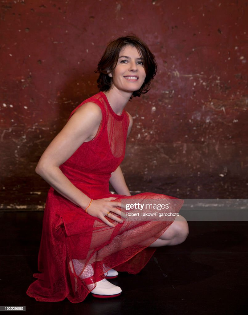 105560-011. Actress Irene Jacob is photographed for Madame Figaro on December 13, 2012 in Paris, France.